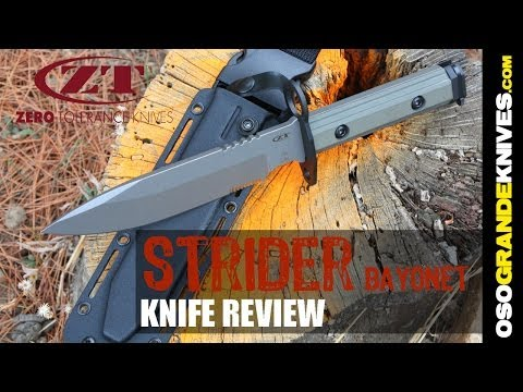 Zero Tolerance ZT9 Strider Knives Bayonet | OsoGrandeKnives