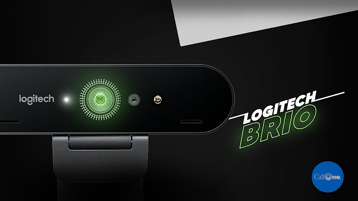 logitech brio 4k webcam overview  video and mic test