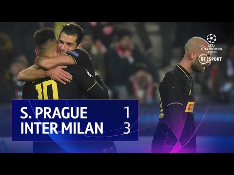 Slavia Prague vs Inter Milan (1-3) | UEFA Champions League Highlights