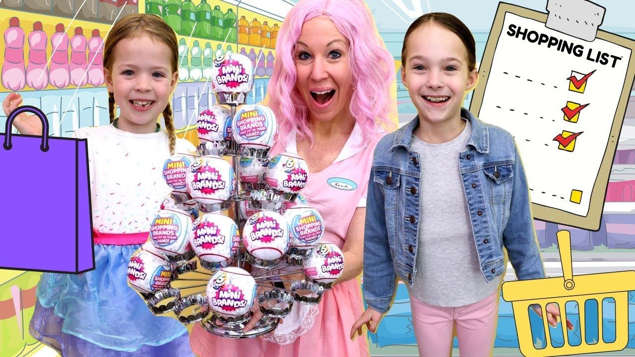 The Toy Cafe Is Full Of 5 Surprise Mini Brands Youtube