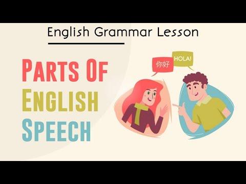 Parts of Speech in English (GRAMMAR Basics)