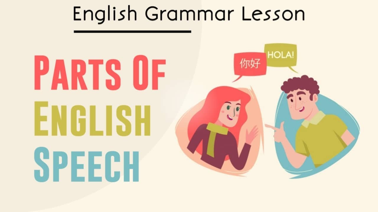 PART SPEECH ENGLISH GRAMMAR PDF DOWNLOAD