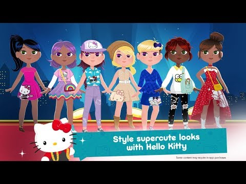 Hello Kitty Fashion Star Android Gameplay