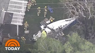 Dramatic Images Show Deadly Small Plane Crash In California | TODAY