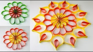 Paper Craft | Paper Rangoli Designs | Paper Craft For Diwali | Diwali Decoration Ideas At Home