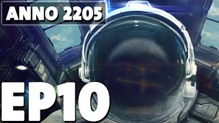 Let's Play Anno 2205 Episode 10 - Big Production - Base Building Management Game