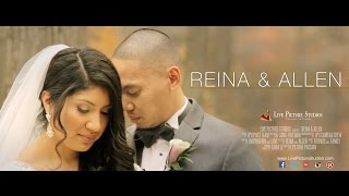 Reina and Allen Wedding Highlight at The Reception Center at Saint Clement, NJ