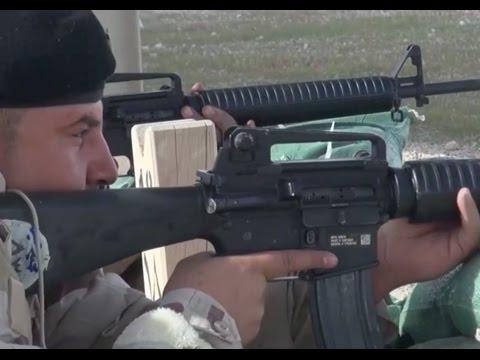 På Skydebanen I Al Asad, Irak