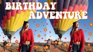 Hot Air Balloon Ride & Wine Tasting | 22nd Birthday Adventure | VLOG EP.4