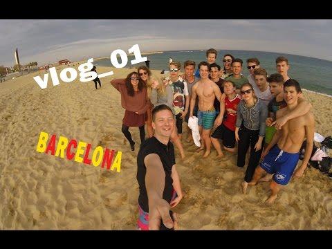 Barcelona VLOG_01 | GoPro HERO 4 Session