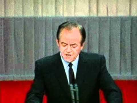 Humphrey's 1968 DNC Acceptance Speech