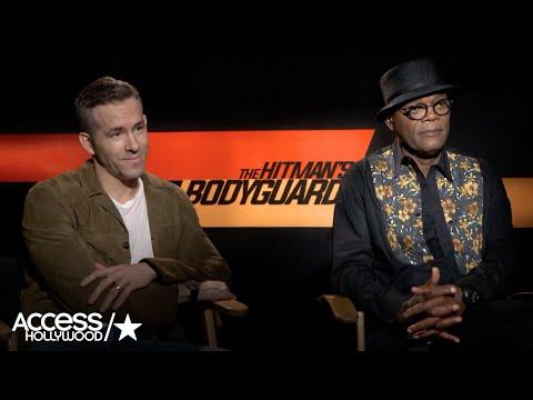 'The Hitman's Bodyguard': Ryan Reynolds & Samuel L. Jackson Talk Teaming Up & Those Epic Stunts