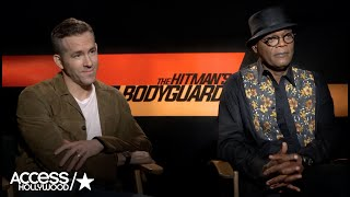 'The Hitman's Bodyguard': Ryan Reynolds & Samuel L. Jackson Talk Teaming Up & Those Epic Stunts