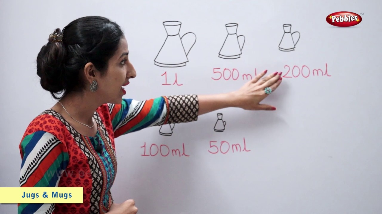 Counting in Litres, Millilitres | Maths For Class 2 | Maths Basics For CBSE  Children