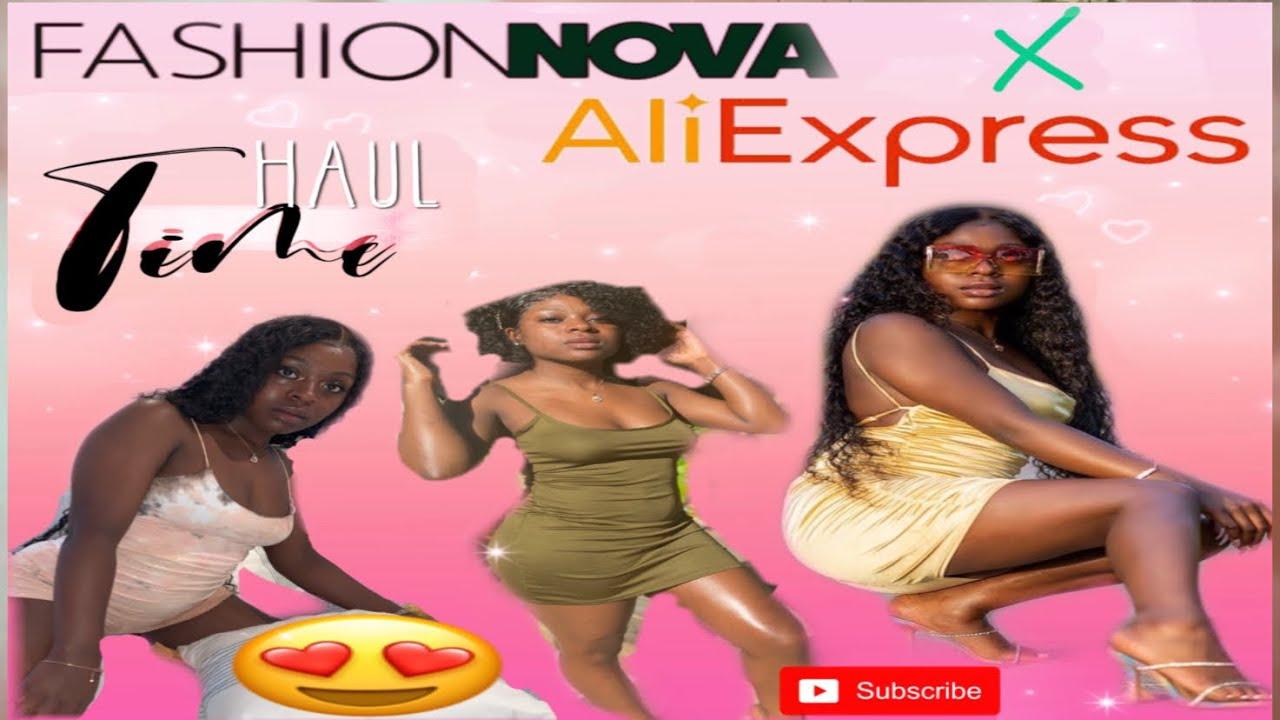 FASHION NOVA TRY ON HAUL FT ALIEXPRESS HAUL (MUST HAVES)