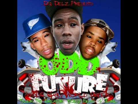 12 Odd Future  Blade Wolf Gang World Order