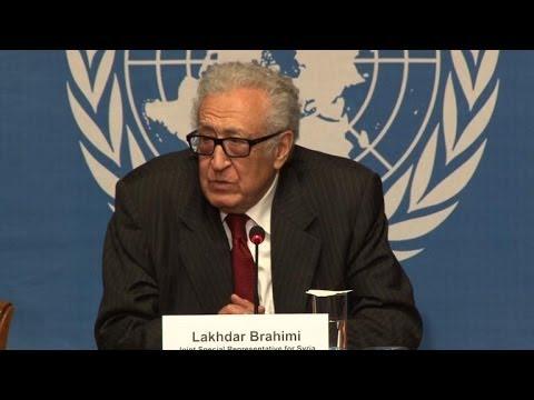 UN-Arab League envoy: Still no date for Syria peace talks