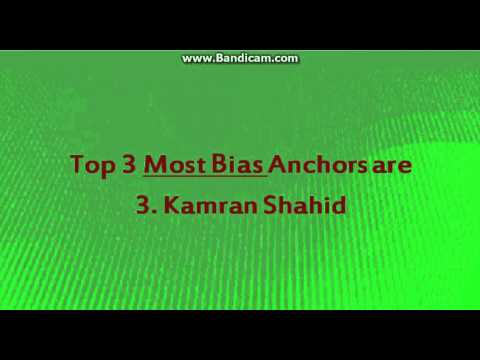 First Ever Ranking of Talk Show Anchors according to Social Media Feedback