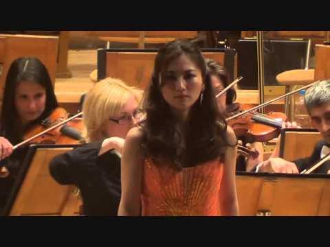 "Mozart Concert Aria ""Popoli di Tessaglia!""  Ayako Tanaka"
