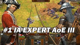 Age Of Empires III : Britanique VS Otoman IA Experte ! #1