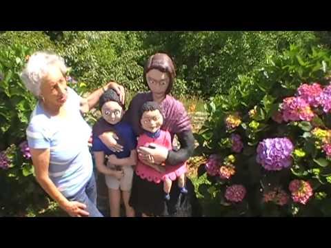 Reportaje   El jardín encantado de Lilia, un lugar mágico y único en Buslaz   Villaviciosa 2014