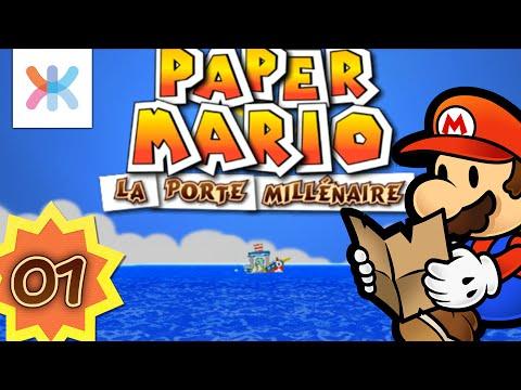 Paper Mario : La porte millénaire #1 - La Princesse a ENCORE disparu ?!