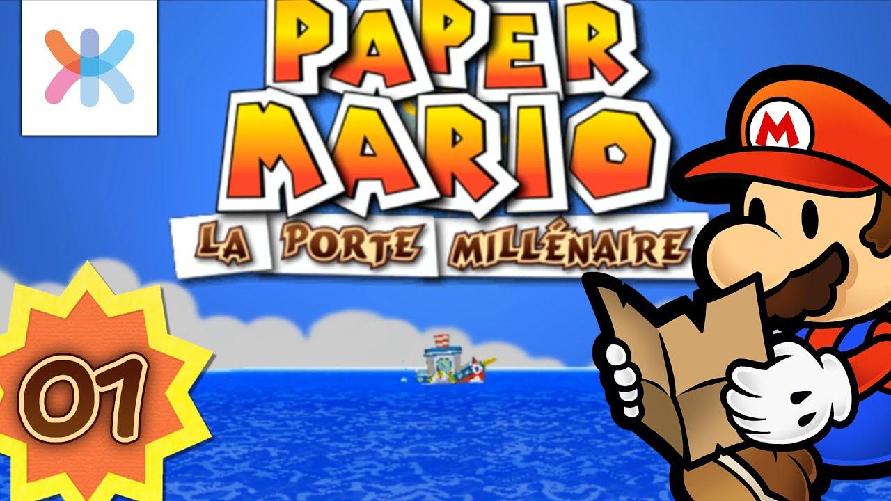 Paper mario la porte mill naire 1 la princesse a - Video paper mario la porte millenaire ...