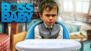 THE BOSS BABY & THE BAD BABY NINJAS - Kids Parody