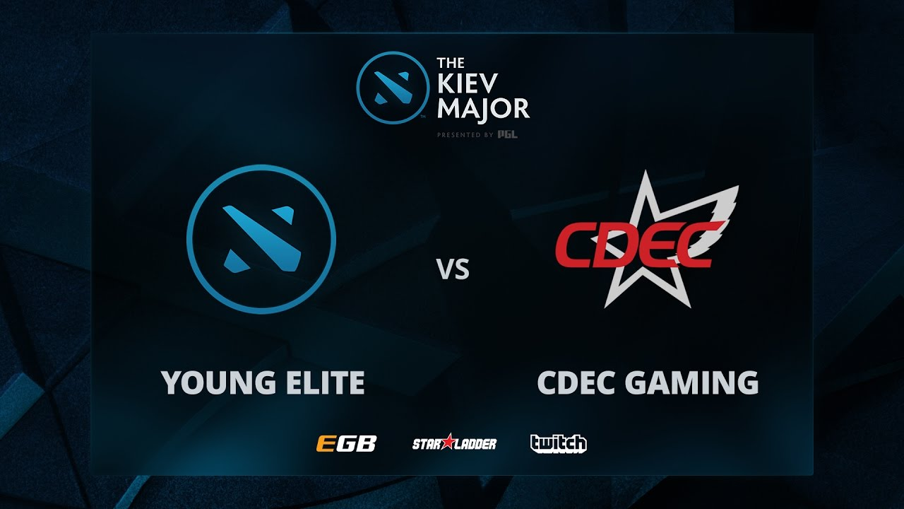 Young Elite vs CDEC Gaming, The Kiev Major CN Main Qualifiers
