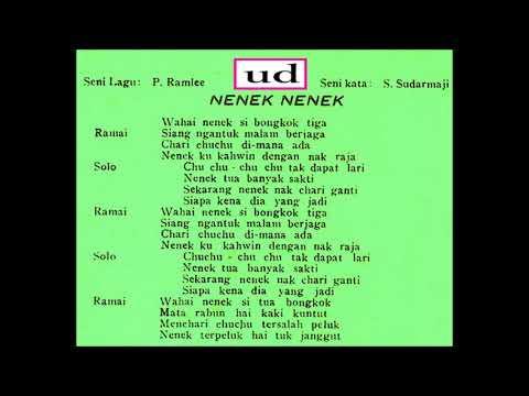 Rahmah Rahmat & MFP Chorus - Nenek Nenek - OST Musang Berjanggut