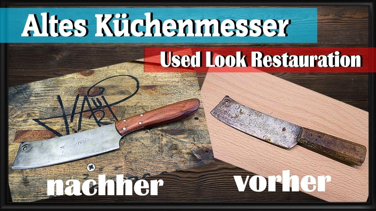 Jäger & Waidmann Antiquitäten & Kunst Küchenmesser... Altes Messer
