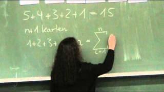 Vollständige Induktion: Die Gaußsche Summenformel (Teil 1)