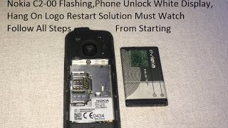 All Nokia Feature Phone Flashing And Software Install / Password Unlock , White Display Solution