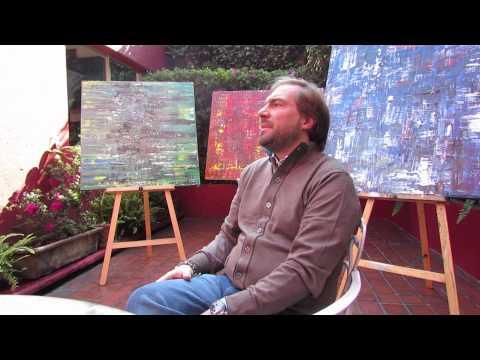 Entrevista con Claudio Calva, Pintor Mexicano