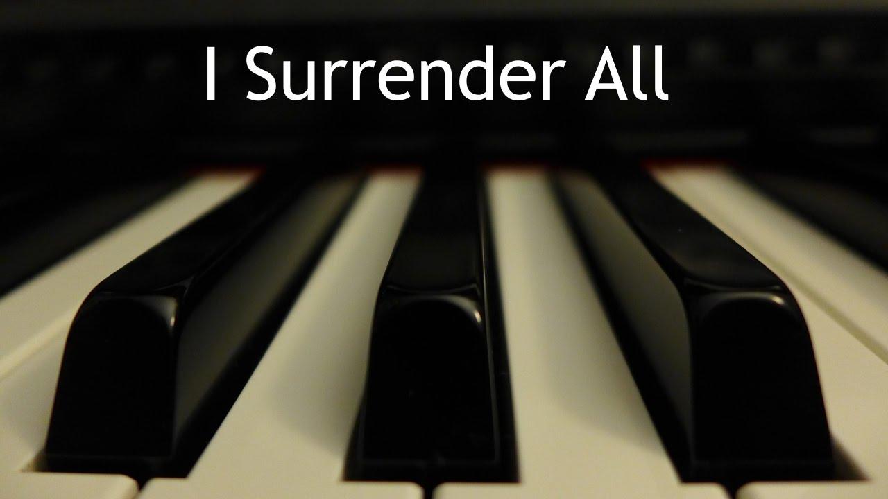 Yo me rindo a Ti | Instrumental piano - Kaleb Brasee
