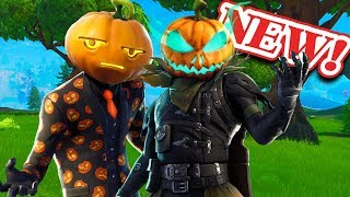 "*NEW* Fortnite Scary Halloeween ""Hollowhead & Jack Gourdon"" Pumpkin Skin!"