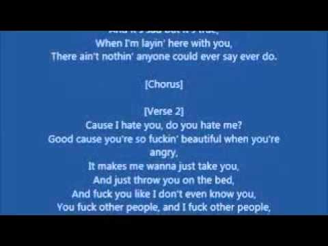 Eminem-I Love You More(Lyrics)