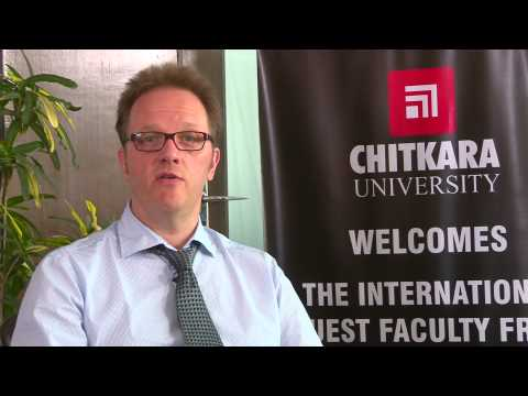 Global Engineering Week - Prof. Thierry Baills - Chitkara University Himachal Pradesh