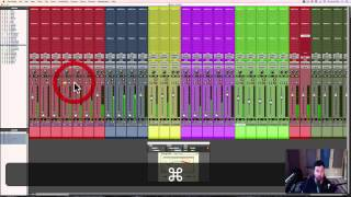 Mixing Indie Folk in Pro Tools | Setting the Static Mix | 2/11