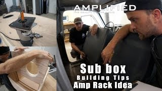 Sub Box Building Tips And My Sheet Metal Amp Rack Idea