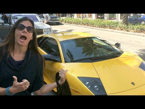 Tour Rodeo Drive Shopping at the Grove Things to do in Los Angeles VLOG