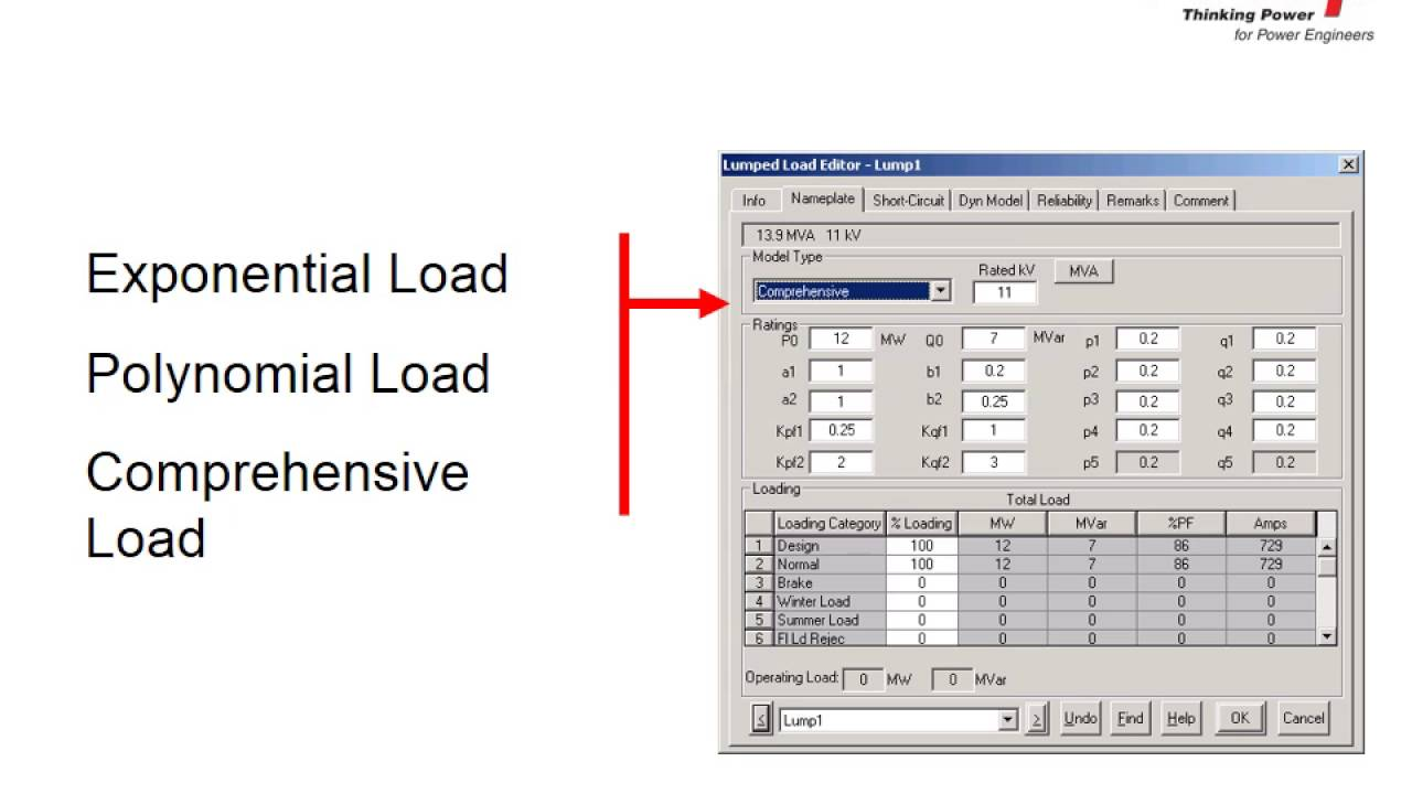 Load Flow Analysis ETAP Electrical power
