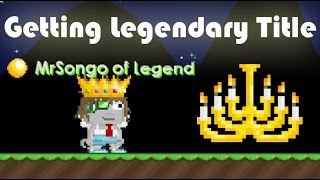 GrowTopia | Getting Legendary Title !!
