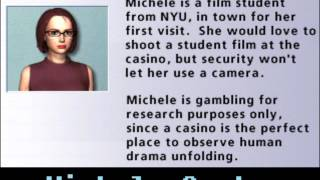 Hoyle Casino 2008 - Michele quotes