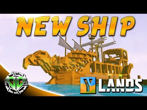 New Ship & Underwater Exploring : YLands Gameplay : PC Early
