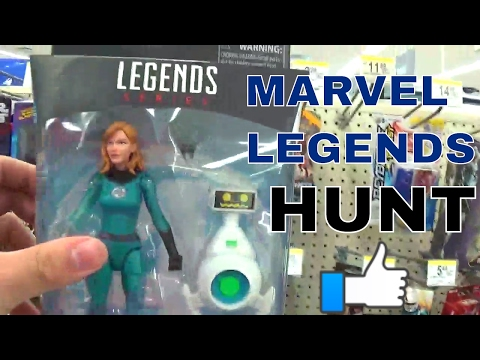 I FOUND THE MARVEL LEGENDS INVISIBLE WOMAN! TOY HUNT COLLABORATION WITH I.E HUNTER!