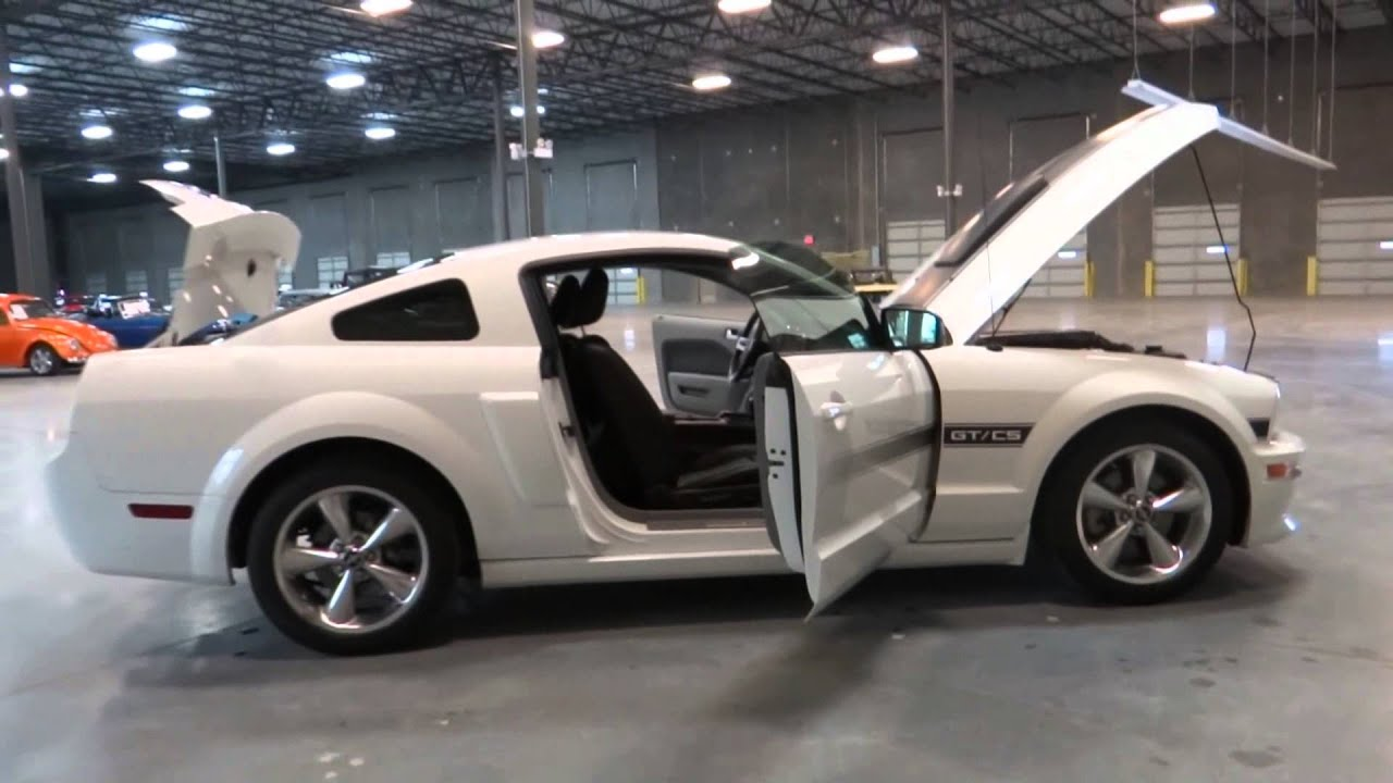 2007 Ford Mustang California Special Stock 54 At Our