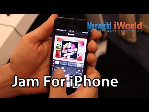 [Macworld iWorld 2013] Jam For iPhone: Be A Rockstar - No Talent Required! Free App