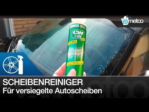Scheibenreiniger Wischwasser bei Scheibenversiegelung   CW1:100 Classic Scheibenreiniger