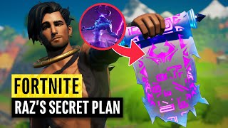 Fortnite | Raz's Secret Plan
